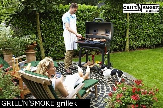 Grill'n'Smoke grill mozdonyok