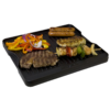 Kép 2/2 - Camp Chef Öntöttvas Megfordítható Grill/Serpenyő 41x36 cm
