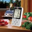 Maverick ET-733 Barbecue Rádió jeles hőmérő, húshőmérő és grillhőmérő - fehér