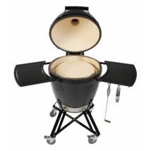 "Primo Kamado/Round ""All in One"" Keramik Grill - Made in USA, Ø 47 cm Large hőlezáró lappal"