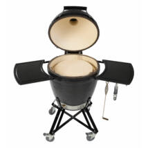 "Primo Kamado/Round ""All in One"" Keramik Grill - Made in USA, Ø 47 cm Large hőlezáró lappal"
