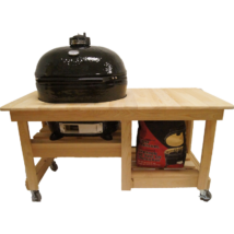 Primo Counter Top Ciprusfa Asztal OVAL 200 Junior