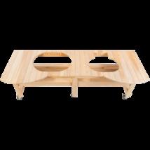 Primo Ciprusfa Kombi Asztal Oval 400 XL és Oval 200 Grillekhez