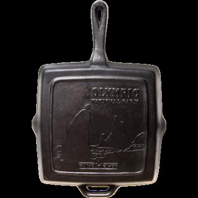 """Camp Chef 11"""" Szögletes Öntöttvas Serpenyő 28 cm (SQ11)"""