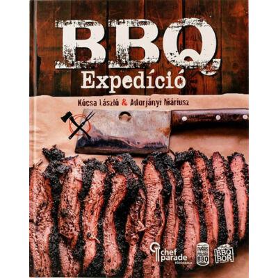 BBQ Expedíció szakácskönyv
