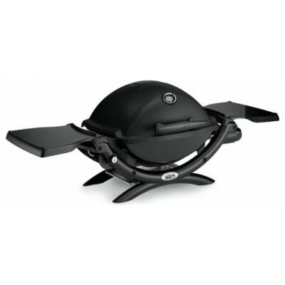 WEBER Q™ 2200, Black, melegentartó ráccsal