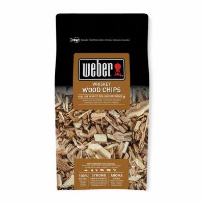 WEBER Füstölő faforgács WHISKEY (EMEA) 0,7KG