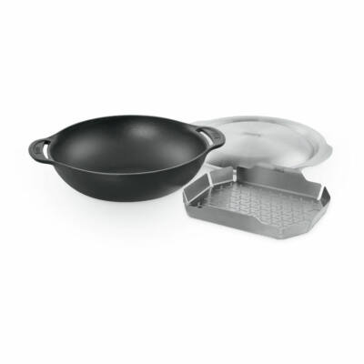 Gourmet BBQ System Wok (betéttel és fedővel)