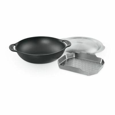Weber Gourmet BBQ System Wok (betéttel és fedővel)
