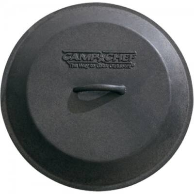 Camp Chef öntöttvas fedő, 25 cm