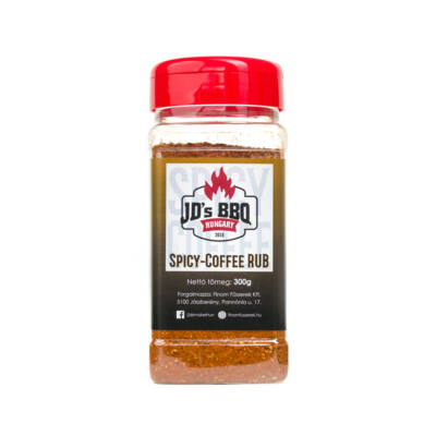 JD's BBQ Spicy-Coffee Rub szóródobozban 300 g