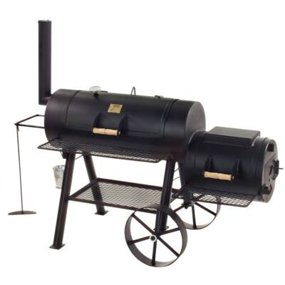 """Joe' Barbeque Smoker - 16"""" Longhorn 6,35 mm-es falvastagság"""