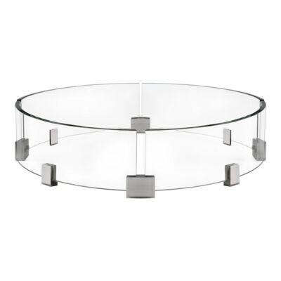 Védőüveg, kör alakú