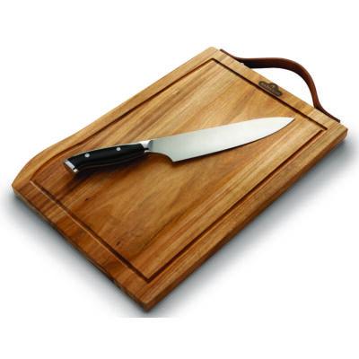 Prémium Vágódeszka Pro Chef késsel