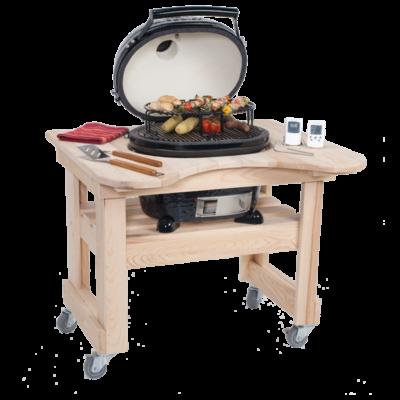 Primo Ciprusfa Asztal OVAL 200