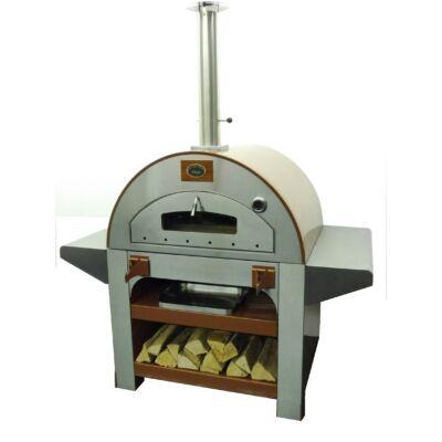 Heatseeker Gourmet kültéri mobil kemence, pizzasütő.
