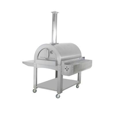 Heatseeker Steel Boy Grill kültéri mobil kemence, pizzasütő.