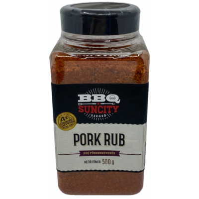 SunCity BBQ Pork rub 580 g