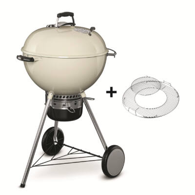 WEBER Master-Touch® GBS®, 57cm, Ivory - fehér grill