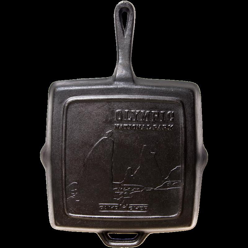"""Camp Chef 11"""" Szögletes Öntöttvas Serpenyő 28 cm"""