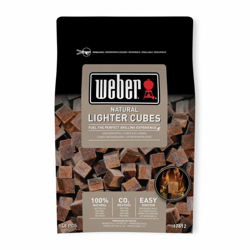 WEBER Természetes begyújtó kocka 48 darabos