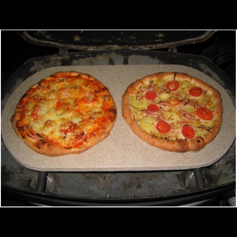 Pizzakő XL ovális