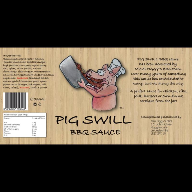 Angus & Oink Miss Piggy Pigswill BBq szósz 300 ml