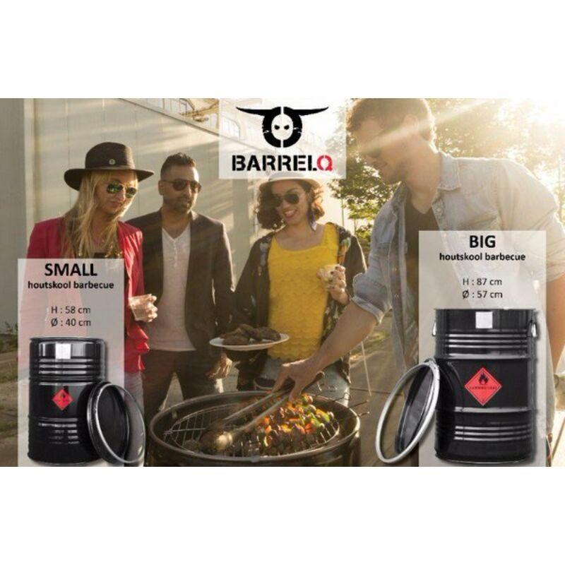 BarrelQ - Big  grill, tűz és asztalhordó.