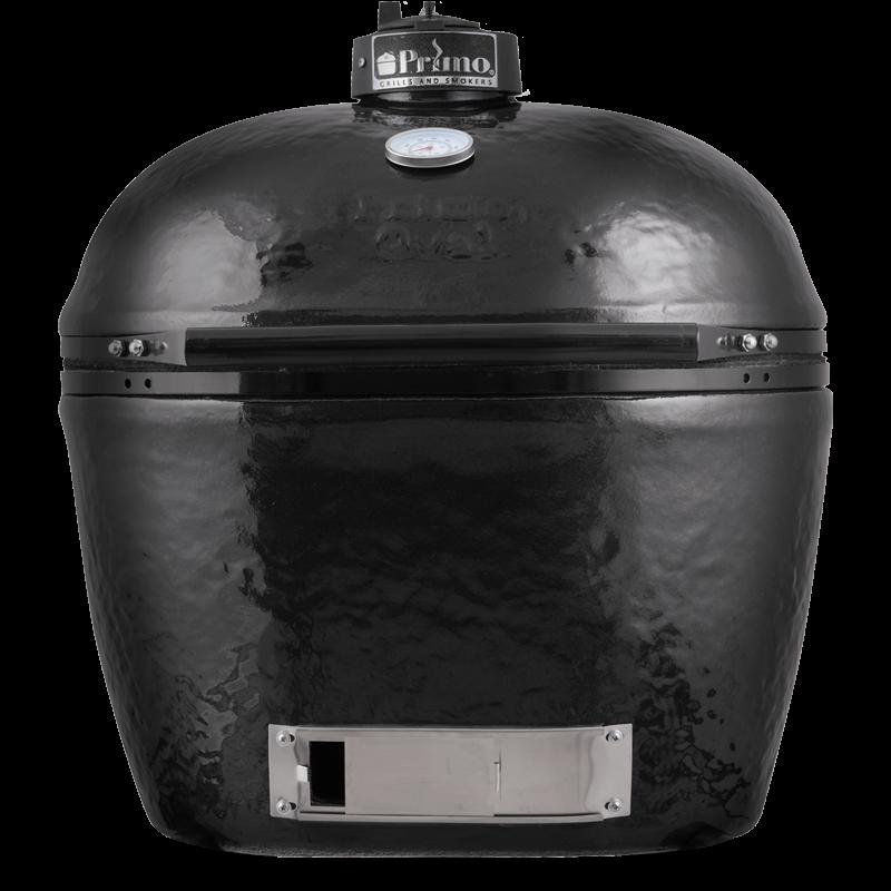 Primo Oval 300 L         - Beépíthető (kerámia grillsütő + hőelzáró lap és tartórács)