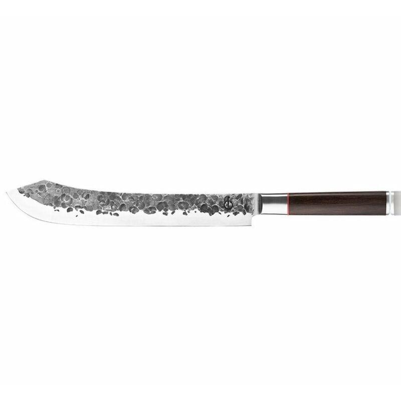 Forged Sebra nyelű hentes kés díszdobozban