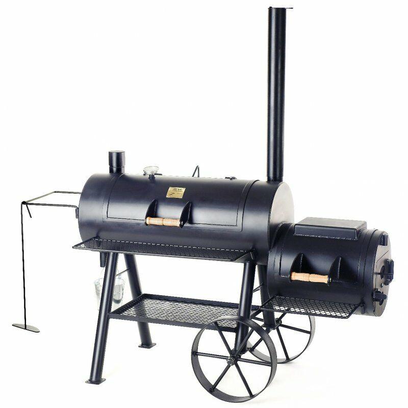 "Joe' Barbeque Smoker - 16"" Reverse Flow Smoker 6,35 mm-es falvastagság"