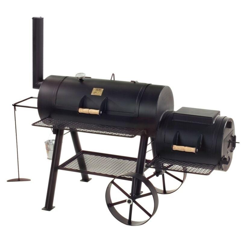 "Joe' Barbeque Smoker - 16"" Texas Classic Long"