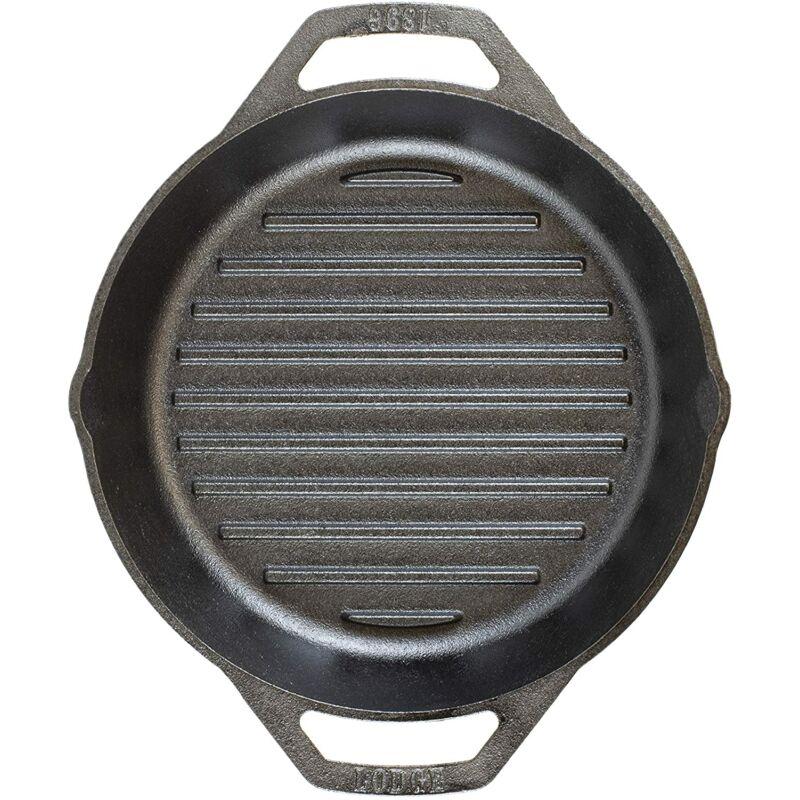Lodge Füles bordázott serpenyő 26 cm