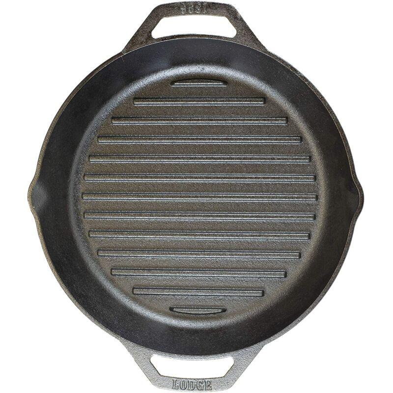 Lodge Füles bordázott serpenyő 30 cm