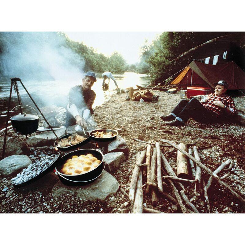 Lodge Camp Dutch Oven Boy Scout Logóval