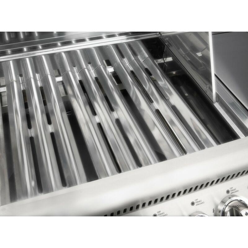 Napoleon BI LEX 485 RBI beépíthető grillkészülék infravörös hátsó égőkkel, rozsdamentes acél