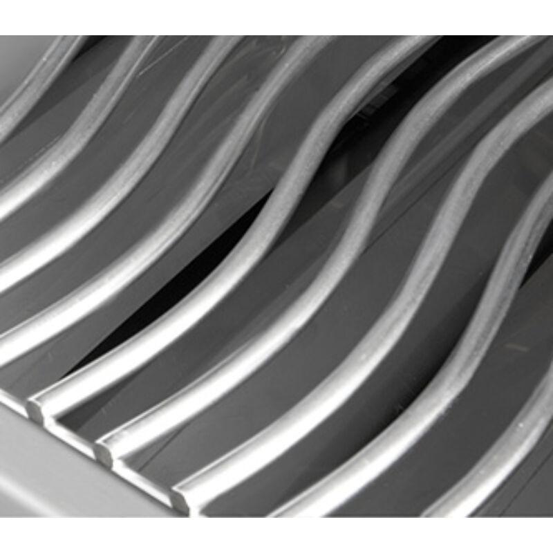 Porcelán bevonatú, megfordítható öntött vas WAVE™rácsok