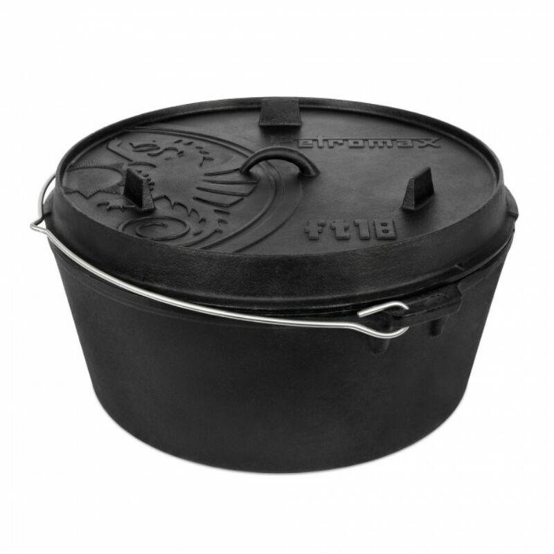 PETROMAX - Dutch Oven 16 L, lapos fenékkel
