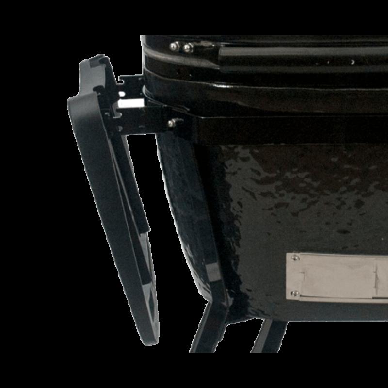 Primo Oval 300 L - All in One  2021 (kerámia grillsütő + hőelzáró lap és tartórács + állvány + oldalpolcok + rácskimelő + hamuzó)