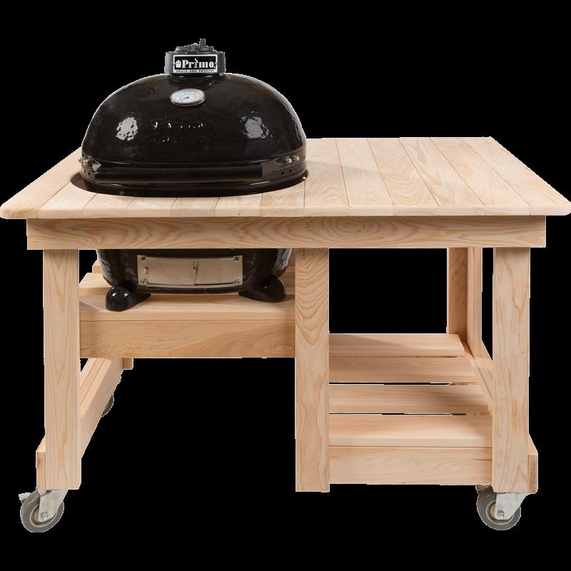 Primo Counter Top Ciprusfa Asztal OVAL 400 XL
