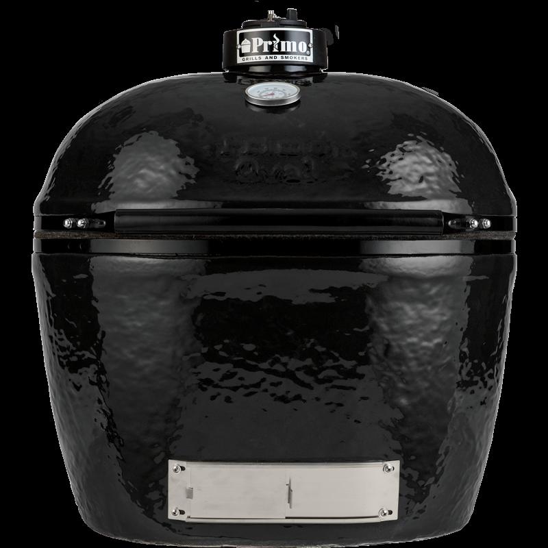 Primo Oval 400 XL       - Beépíthető (kerámia grillsütő + hőelzáró lap és tartórács)