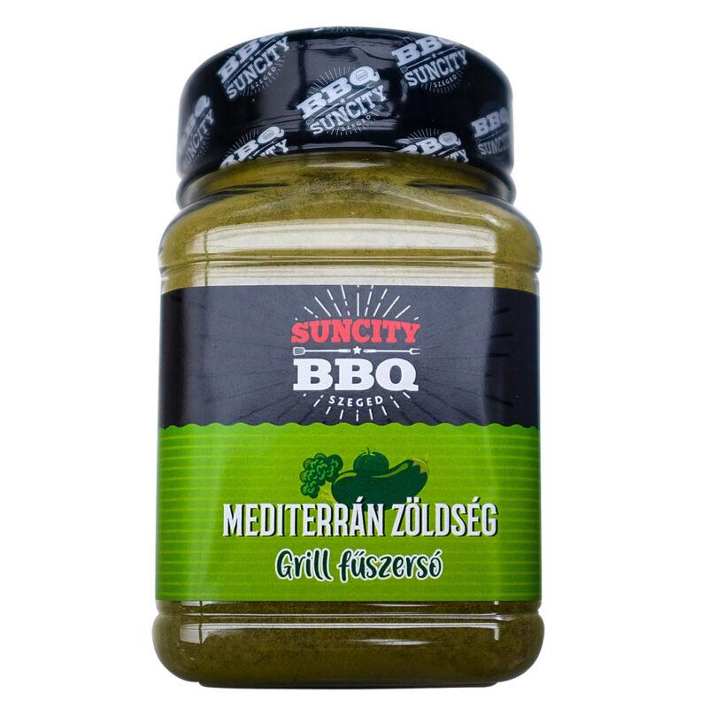 SunCity BBQ Mediterrán zöldséges grill fűszersó 280 g