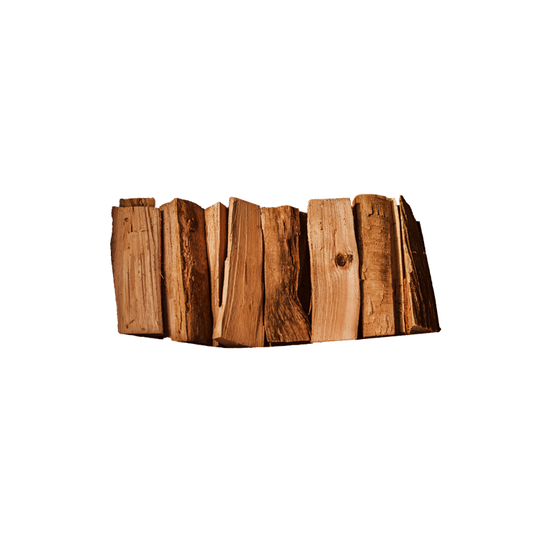 Wood2Smoke Füstölőfa Hasáb Offset Smokerhez Bükk - 30 kg