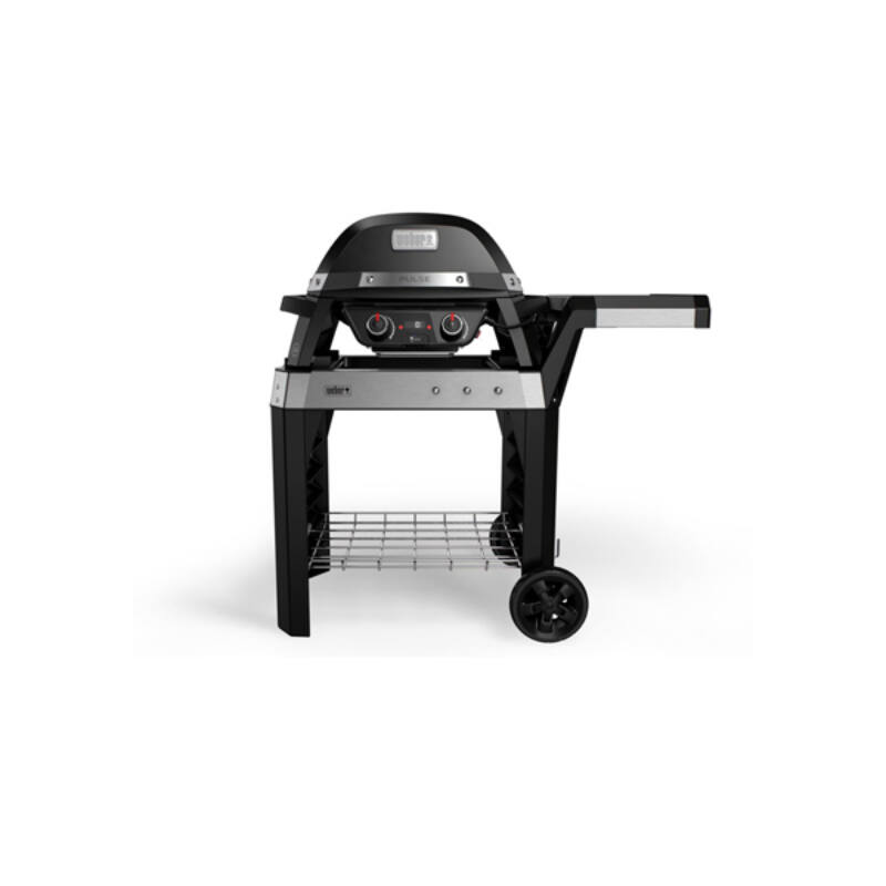 WEBER PULSE 2000 black elektromos grill kocsival