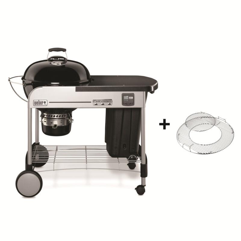 WEBER Perfomer® Deluxe GBS® Gourmet, 57cm, Black grill